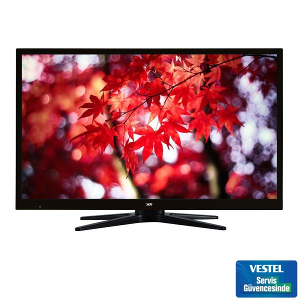 SEG 24224BX 24'' 61 CM SLİM LED TV SİYAH