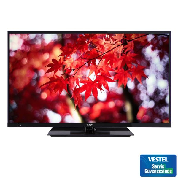 SEG 39226B 39'' 98CM FULL HD SLİM LED TV UYDU ALICILI SİYAH