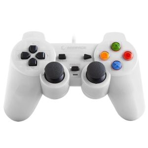 SNOPY RAMPAGE SG-R602  PS3/PC USB 1.8 JOYPAD- BEYAZ