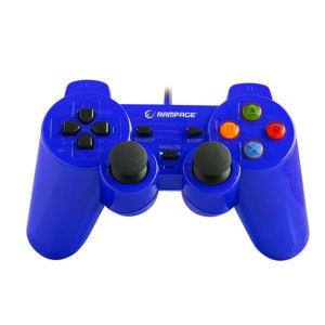 SNOPY RAMPAGE SG-R602  PS3/PC USB 1.8 JOYPAD- MAVİ