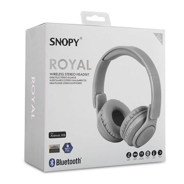SNOPY SN-BT51 ROYAL BLUETOOTH KULAKLIK BEYAZ