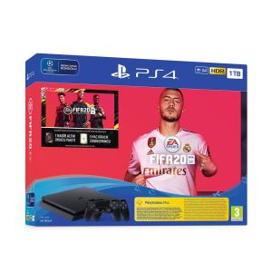 SONY FIFA 20+Dualshock 4 / PS4 1 TB F SLIM OYUN KONSOLU (PS PLUS 14 GÜN VOUCHER)