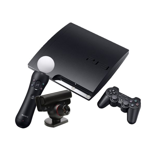 SONY  PS3 320 GB  Oyun Konsolu (move starter pack)