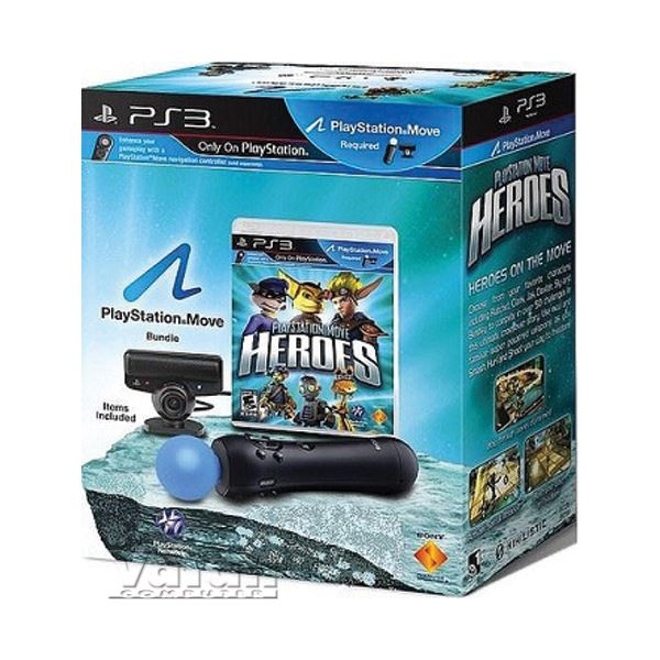 SONY  PS Move Heroes/Move Controler/Camera/EXP