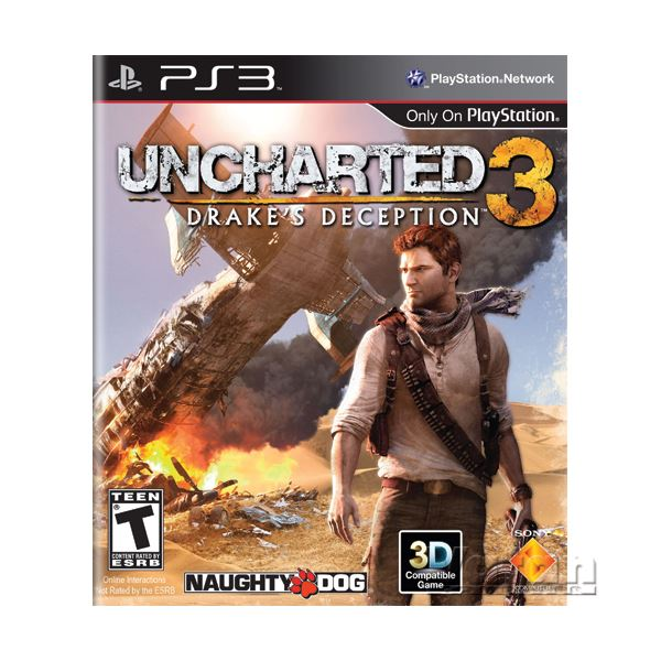 PS3 Oyun:Uncharted 3: Drake's Deception/TUR