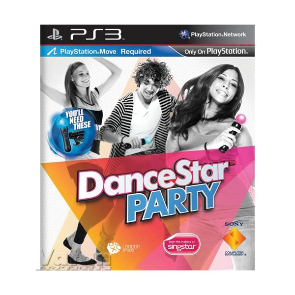 SONY PS3 Oyun: Dancestar Party