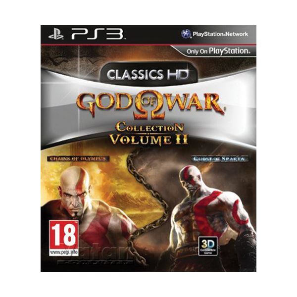 PS3 Oyun: God of War Collection 2