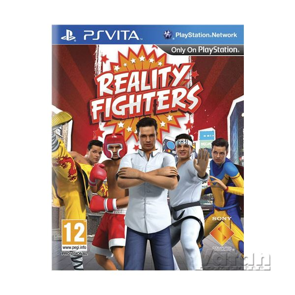 SONY PS VITA Oyun:  Reality Fighters (VITA)/MIN Oyun