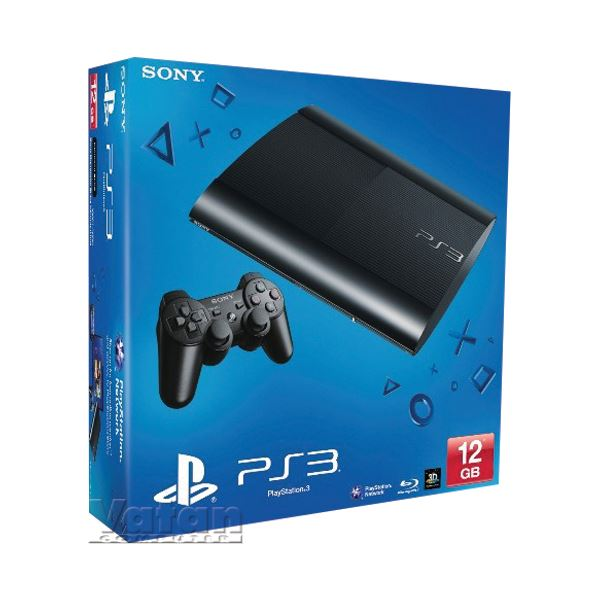 SONY PS3 12GB M Chassis EUR Black