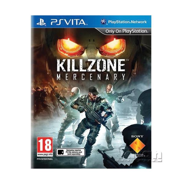 SONY PS VITA Oyun: Killzone Mercenary