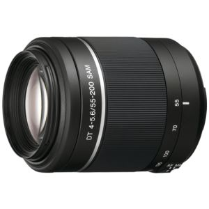 SONY SAL-55-200mm F4 - 5.6 SAM II LENS