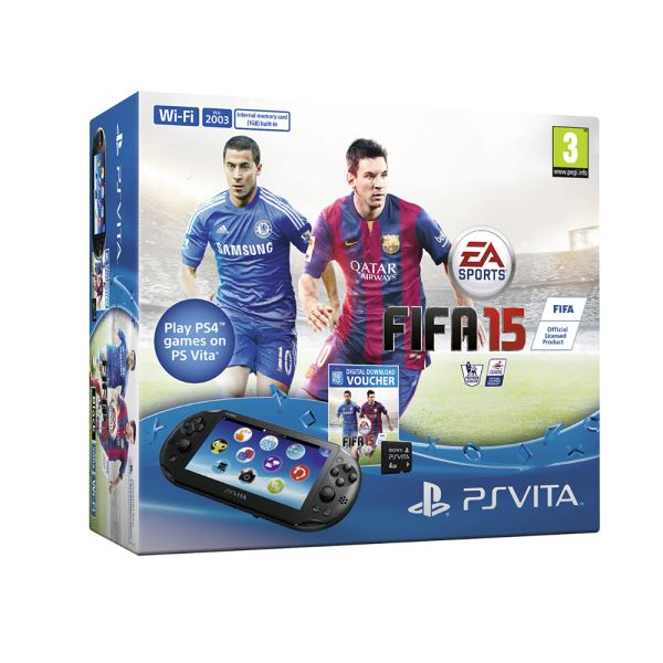 SONY PLAYSTATION VITA SLIM 2000 + FIFA 15