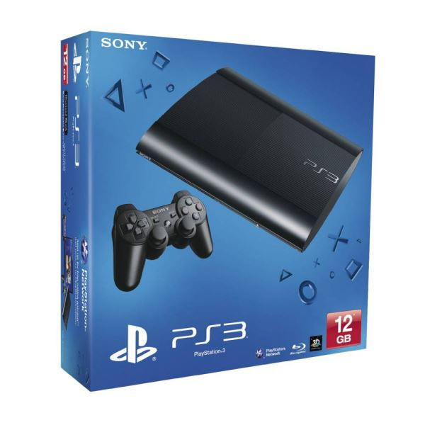 SONY PS3 12GB Chassis EUR Black