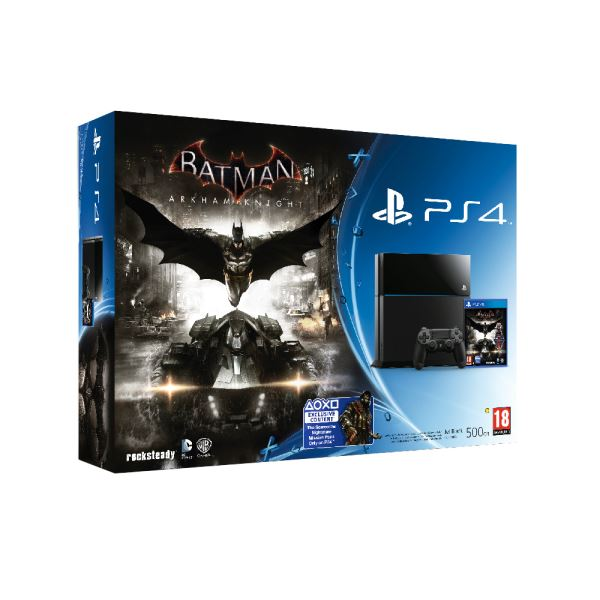 SONY Batman Arkham Knight PS4 500GB B/  TUR OYUN KONSOLU