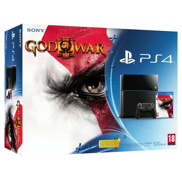 SONY PS4 God Of War III Remastered / PS4 500GB A / TUR OYUN KONSOLU