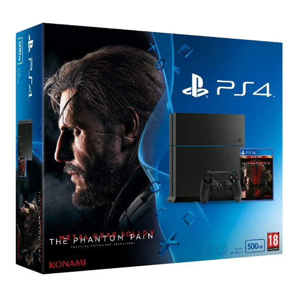 SONY Metal Gear Solid V / PS4 500GB A / TUR OYUN KONSOLU