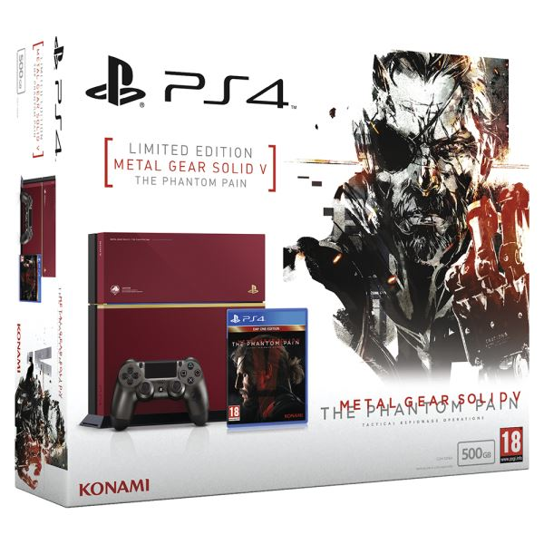 SONY Metal Gear Solid V Special Edition / PS4 500GB A / TUR OYUN KONSOLU
