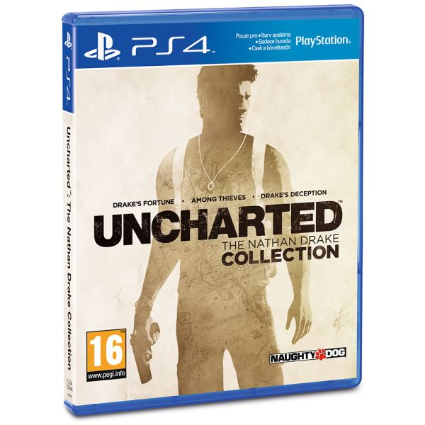SONY PS4 Oyun : Uncharted The Nathan Drake Collection