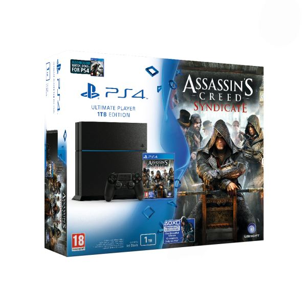 SONY Assasins Creed Syndicate / PS4 1 TB C / TUR OYUN KONSOLU