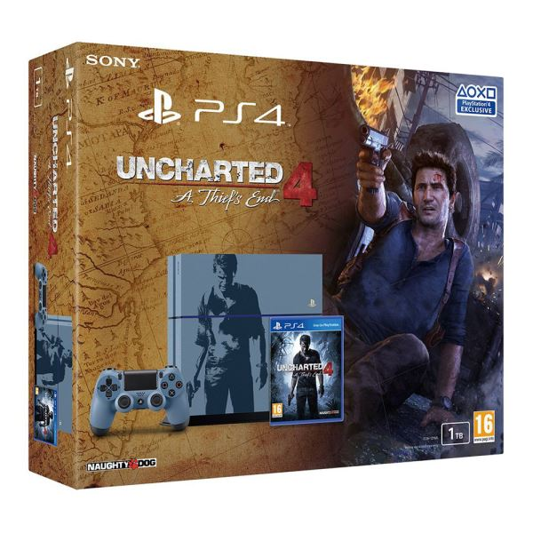 SONY Uncharted 4 A Thief's End Special Edition / PS4 1TB / TUR OYUN KONSOLU
