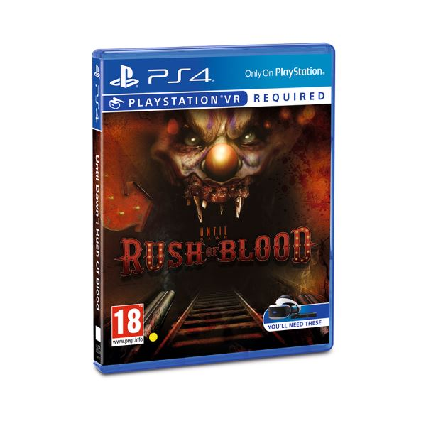 SONY PS VR Oyun : Until Dawn Rush of Blood