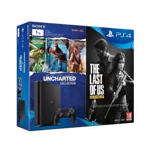SONY The Last Of Us + Uncharted Collection / PS4 1 TB SLIM OYUN KONSOLU