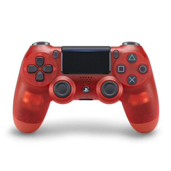 SONY PS4 Dualshock Cont Translucent Red