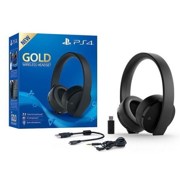 SONY PS4 Wireless Stereo Headset (Gold)
