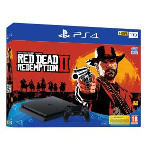 SONY Red Dead Redemption II / PS4 1 TB F SLIM OYUN KONSOLU