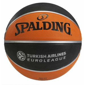 Spalding TF-150 Euroleague Basket Topu Turkish Airlines EURO/TURK FNS-TOPBSKSPA247