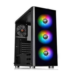 THERMALTAKE V200TG 600W 80PLUS 3x120mm RGB FANLI MidT ATX GAMING KASA