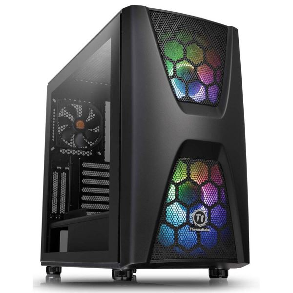THERMALTAKE COMMANDER C34 TEMPERED GLASS RGB 2x200mm FANLI MidT GAMİNG KASA
