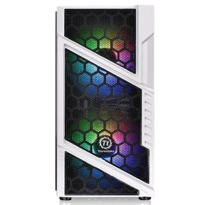 THERMALTAKE COMMANDER C31 SNOW TEMPEREDGLASS ARGB 2x200mm FANLI MidT GAMING KASA