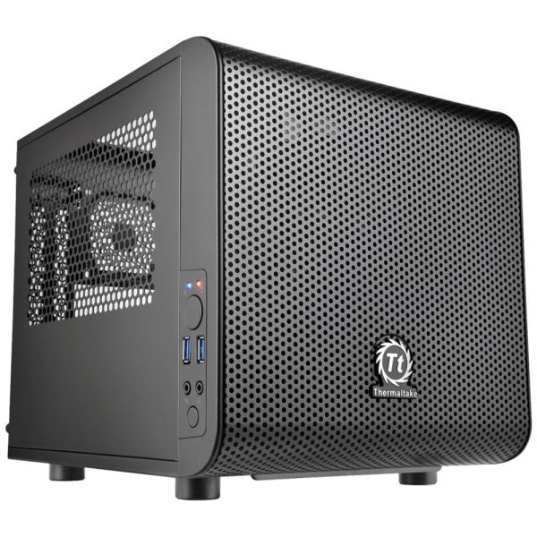 THERMALTAKE CORE V1 Mini-ITX TOWER SİYAH KASA