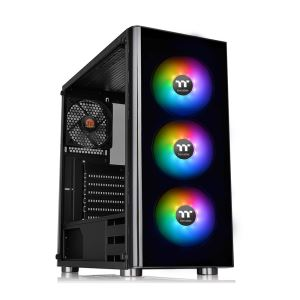 THERMALTAKE V200 TG 600W 80PLUS USB 3.0 3x120MM RGB FANLI MidT ATX GAMİNG KASA