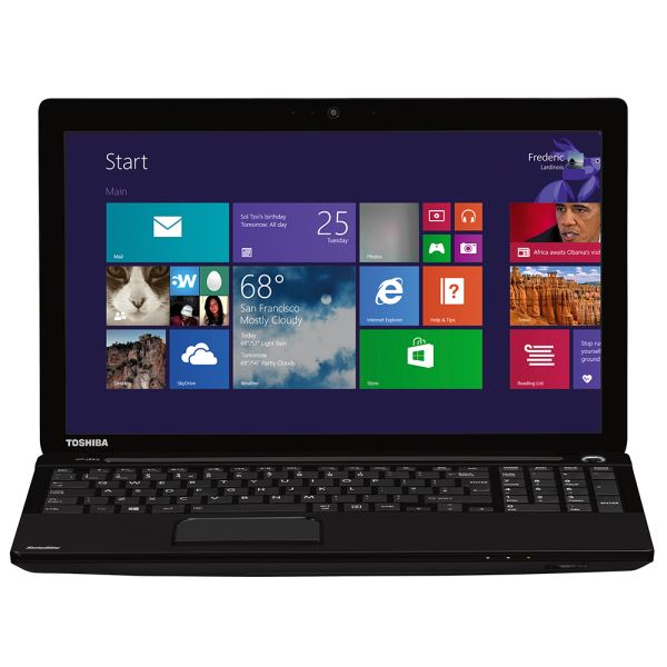 TOSHİBA SATELLİTE C55 CORE İ5 4200M 2.5GHZ-8GB-750GB-2GB-15.6-W8.1 NOTEBOOK