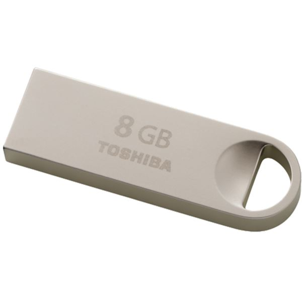Toshiba 8GB Metal USB 2.0 USB Bellek