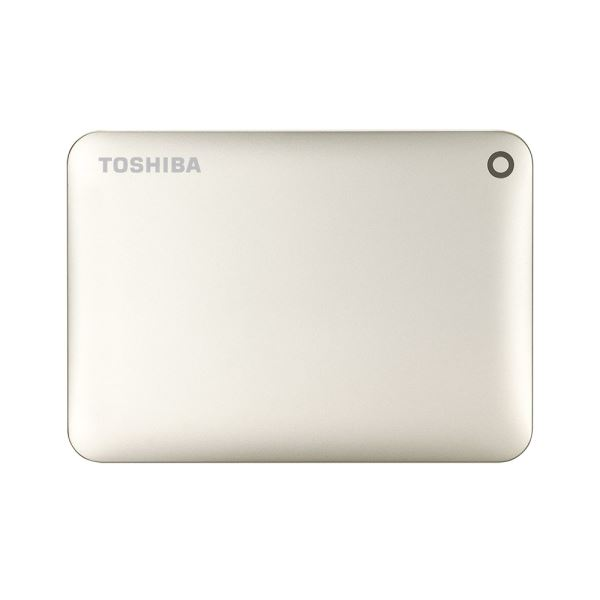Toshiba 2,5 1TB Canvio Connect II USB3.0 Satin Gold Taşınabilir Disk