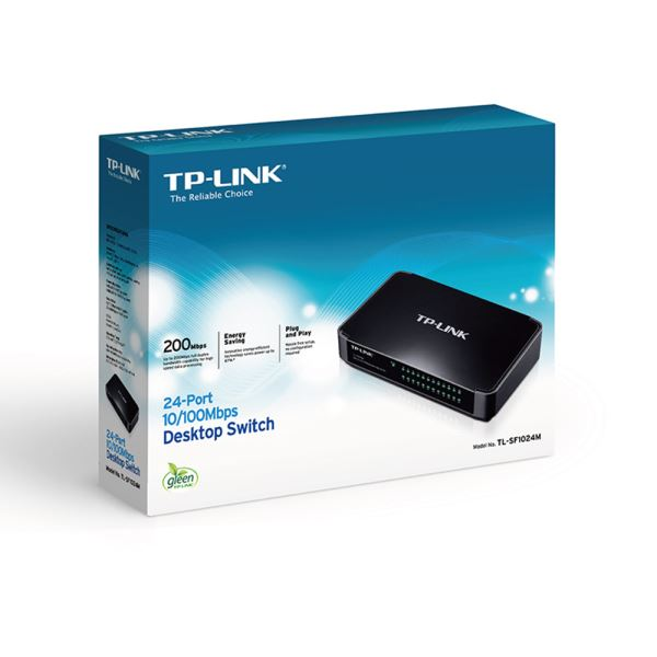 TP-LINK TL-SF1024M 10/100 24 PORT SWITCH