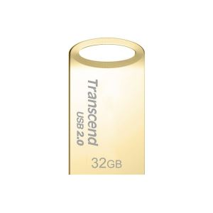 TRANSCEND 32GB JetFlash 510 USB 2.0 Gold USB Bellek