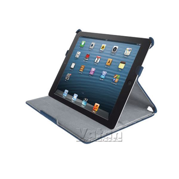 19104 STİLE IPAD MİNİ STAND VE SERT KILIF- (MAVİ)