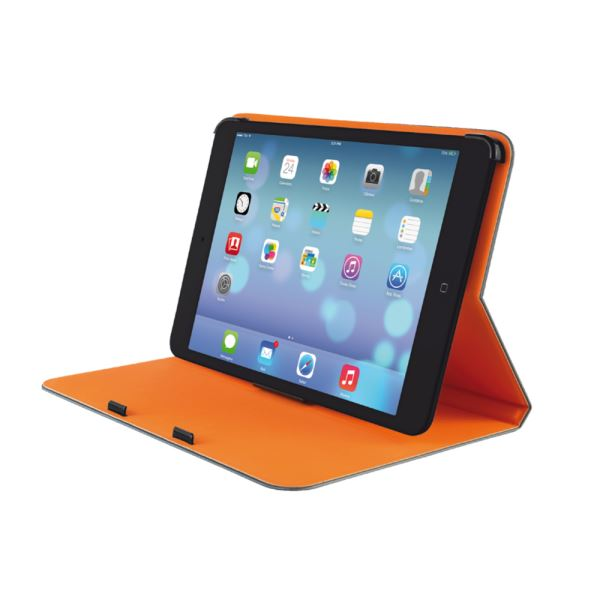 TRUST 19842 AEROO IPAD MİNİ ULTRATHİN KILIFI- (GRİ-ORANJ)