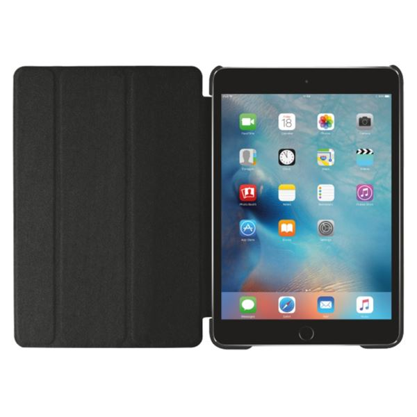 21103 TRUST IPAD MİNİ 4 SMART CASE & STAND- (SİYAH)