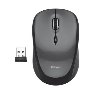 TRUST 18519 Yvi Wireless Mini Mouse - Siyah