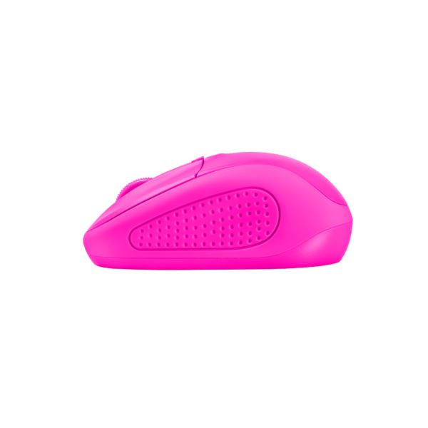 TRUST 21923 Primo Wireless Mouse - neon pink