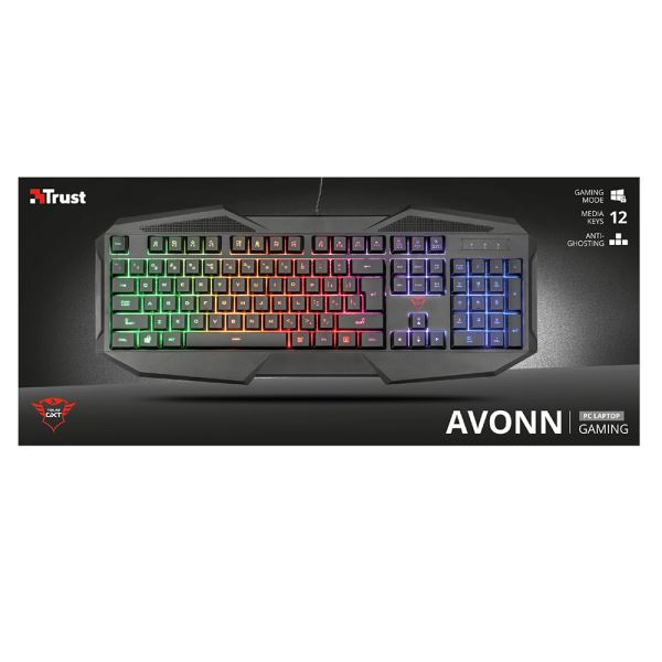 TRUST 22507 GXT 830-RW Avonn Gaming Keyboard TR