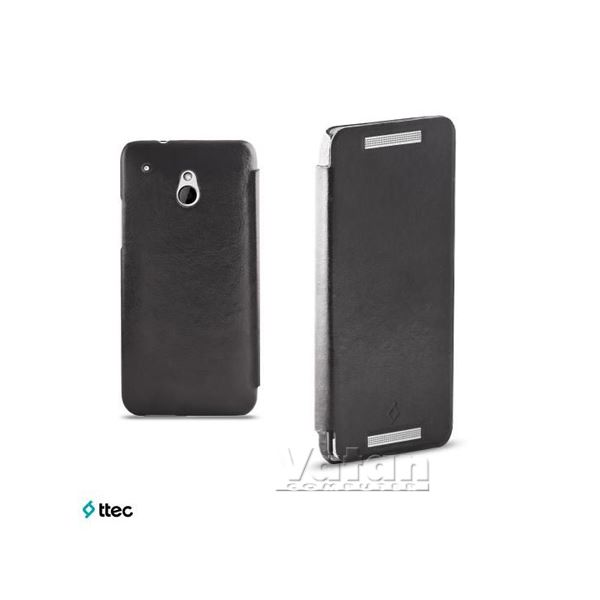 2KLYK1002 FLİPCASE HTC ONE MİNİ KILIF- (SİYAH)