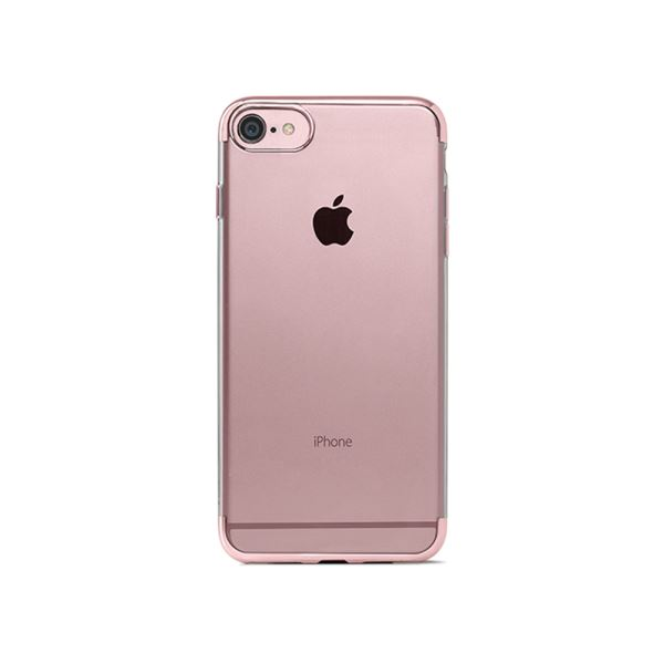 2PNS65RA TTEC IPHONE 7 CHROMECLEAR KORUMA KAPAĞI- (ROSE ALTIN)