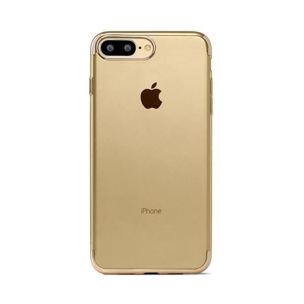2PNS66AS TTEC IPHONE 7 PLUS CHROMECLEAR KORUMA KAPAĞI- (ALTIN)