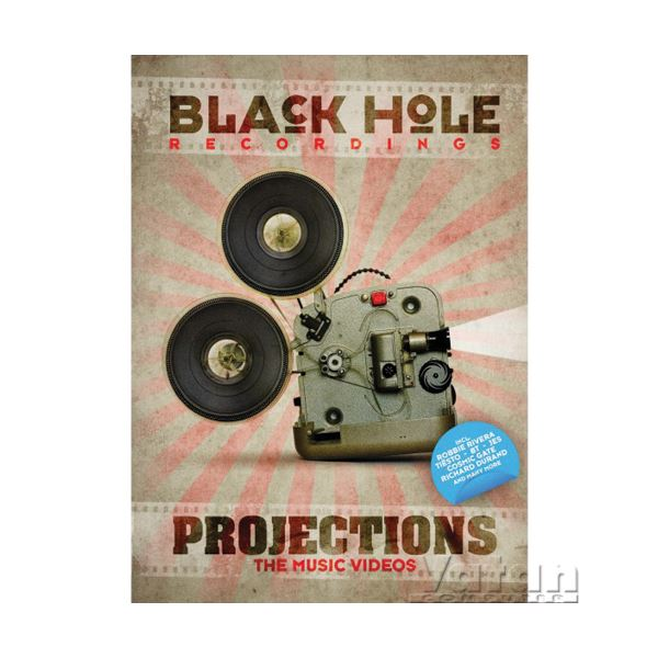 VARIOUS BLACK HOLE RECORDINGS PROJECTION THE MUSIC VIDEOS